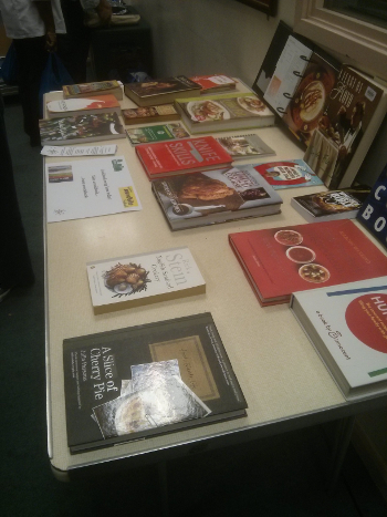 West Ealing cookbook swap